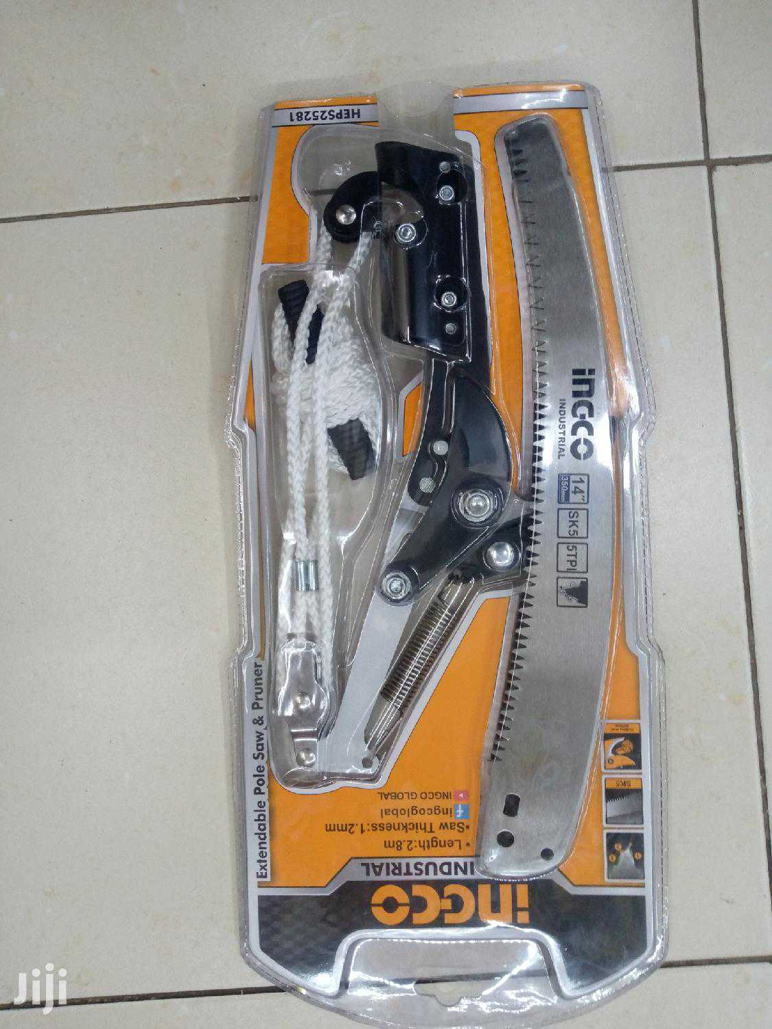 Ingco Extendable pole saw and pruner 2.8m